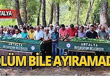 Antalya'da çifte ölüm!