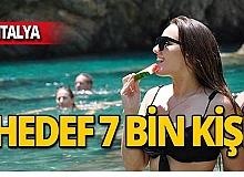 Antalya'da kültür turuna yoğun ilgi!