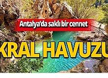 Antalya Kral Havuzuna nasıl gidilir?