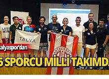 Antalyaspor'dan 15 milli sporcu!