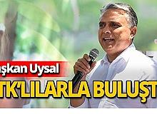 """Başkan Uysal: """"Yüreğinde engel olmayan herkese kapımız açık"""""""