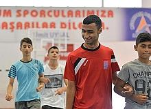 Görme engelli sporcular turnuvaya hazırlanıyor