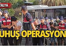 Jandarmadan fuhuş operasyonu: 12 gözaltı!