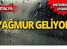 Meteoroloji uyardı: Öğleden sonra yağmur geliyor!