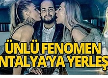 Tahliye olur olmaz Antalya'ya yerleşti