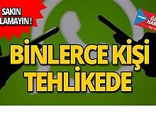 WhatsApp kullanıcıları dikkat! Sakın tıklamayın
