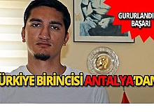 YKS Türkiye birincisi Antalya'dan!
