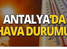25 Ağustos 2019 Antalya hava durumu