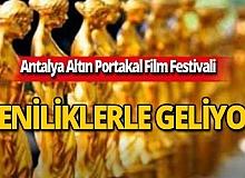 Antalya Altın Portakal Film Festivali yeniliklerle geliyor!