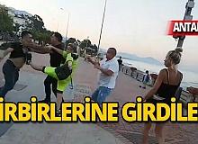 Antalya'da canlı yayında ortalık karıştı!