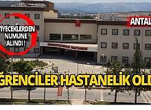 Antalya'da onlarca öğrenci hastaneye başvurdu!