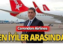Corendon Airlines, Türkiye'nin en büyük şirketleri arasında