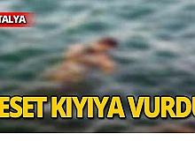 Denizde erkek cesedi bulundu!