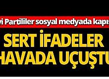 Antalya 'İyi Parti'liler sosyal medyada kapıştı