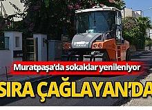 Muratpaşa Belediyesi Çağlayan'ı yeniliyor