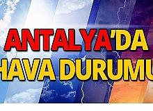 21 Eylül Antalya hava durumu