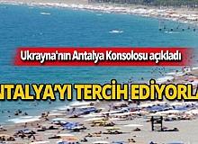 700 bin Ukraynalı turist Antalya'yı tercih ediyor