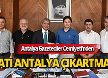 AGC heyetinden Batı Antalya ziyareti
