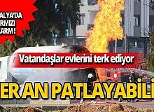 Antalya'da kırmızı alarm! Vatandaşlar evlerini terk ediyor