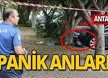 Antalya'da panik anları! Polis o bölgeyi kapattı