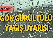 Antalya için peş peşe uyarı: O saatlere dikkat!