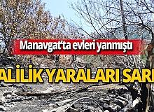 Antalya Valiliği'nden evleri yanan ailelere destek!