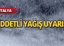 Antalyalılar dikkat! Sıcaklık azalıyor, yağmur geliyor