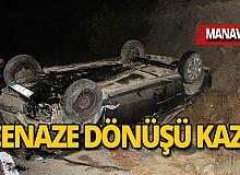 Cenaze dönüşü feci kaza: Yaralılar var!