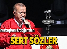 """Cumhurbaşkanı Erdoğan: """"Bu millet unutmayacak"""""""