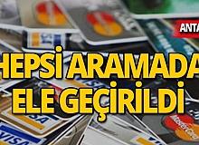 Kredi kartı dolandırıcılığına 4 gözaltı!