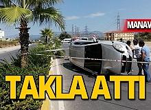 Manavgat Şelalesi yolunda feci kaza!