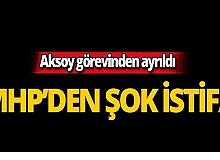 MHP Antalya'da istifa!