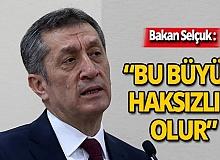 Milli Eğitim Bakanı Selçuk'tan yetenek taramalarına ilişkin açıklama