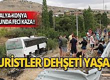 Turistler dehşeti yaşadı: Yaralılar var!