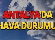 10 Ekim 2019 Antalya hava durumu