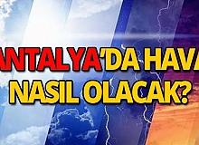 14 Ekim 2019 Antalya hava durumu