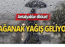 16 Ekim Antalya hava durumu