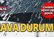 18 Ekim Antalya hava durumu