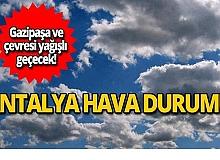 23 Ekim Antalya hava durumu