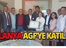 Alanya Gazeteciler Cemiyeti resmen AGF'li oldu
