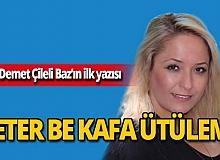 Akdeniz Otizm Spor Kulübü Başkanı Demet Çileli Baz MYGazete.com'da!