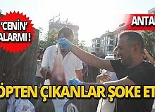 Antalya'da çöp konteynerinde 'cenin' alarmı!