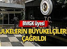 BMGK üyesi ülkeler çağırıldı