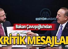 """Çavuşoğlu: """"Mutabakatlar siyasi başarı olarak tarihe geçti"""""""