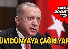 """Cumhurbaşkanı Erdoğan: """"AB ve dünya, Türkiye'yi desteklemelidir"""""""