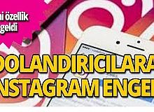 Instagram'dan dolandırıcılara engel