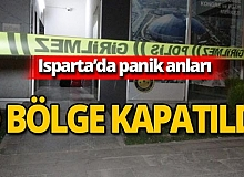 Isparta'da bomba paniği!