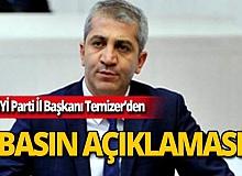 İYİ Parti İl Başkanından basın açıklaması