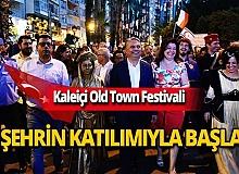 Kaleiçi Old Town Festivali başladı