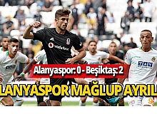 Sonuç: 2-0! Alanyaspor'dan gol sesi çıkmadı